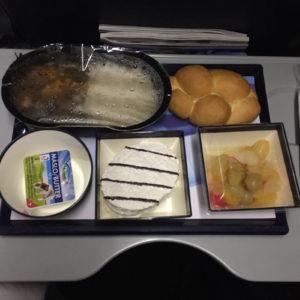 jidlo v letadle