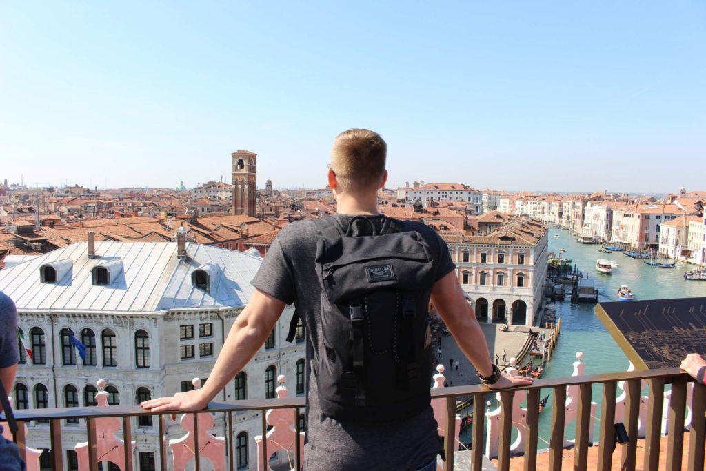 Výhled na Benátky