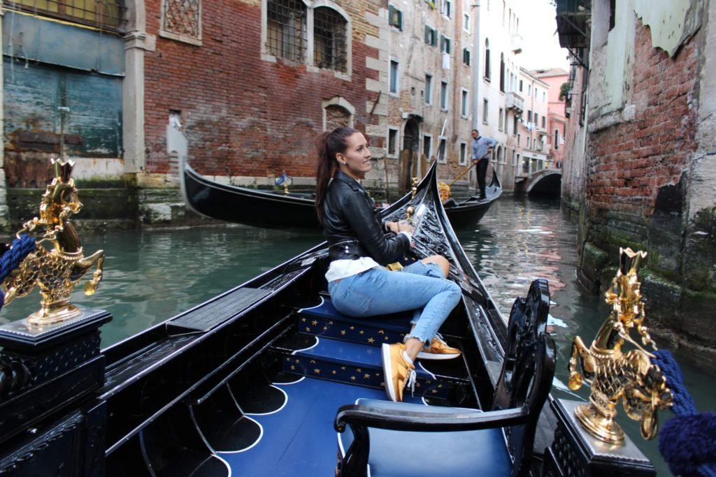 Prohlídka Benátek z gondoly