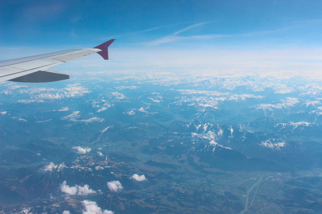 Cestou nad Alpami